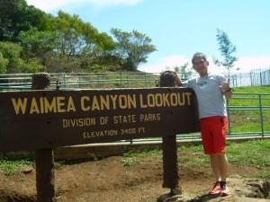 前回は全く見えなかった『Waimea Canyon』も今回は感じることができました。